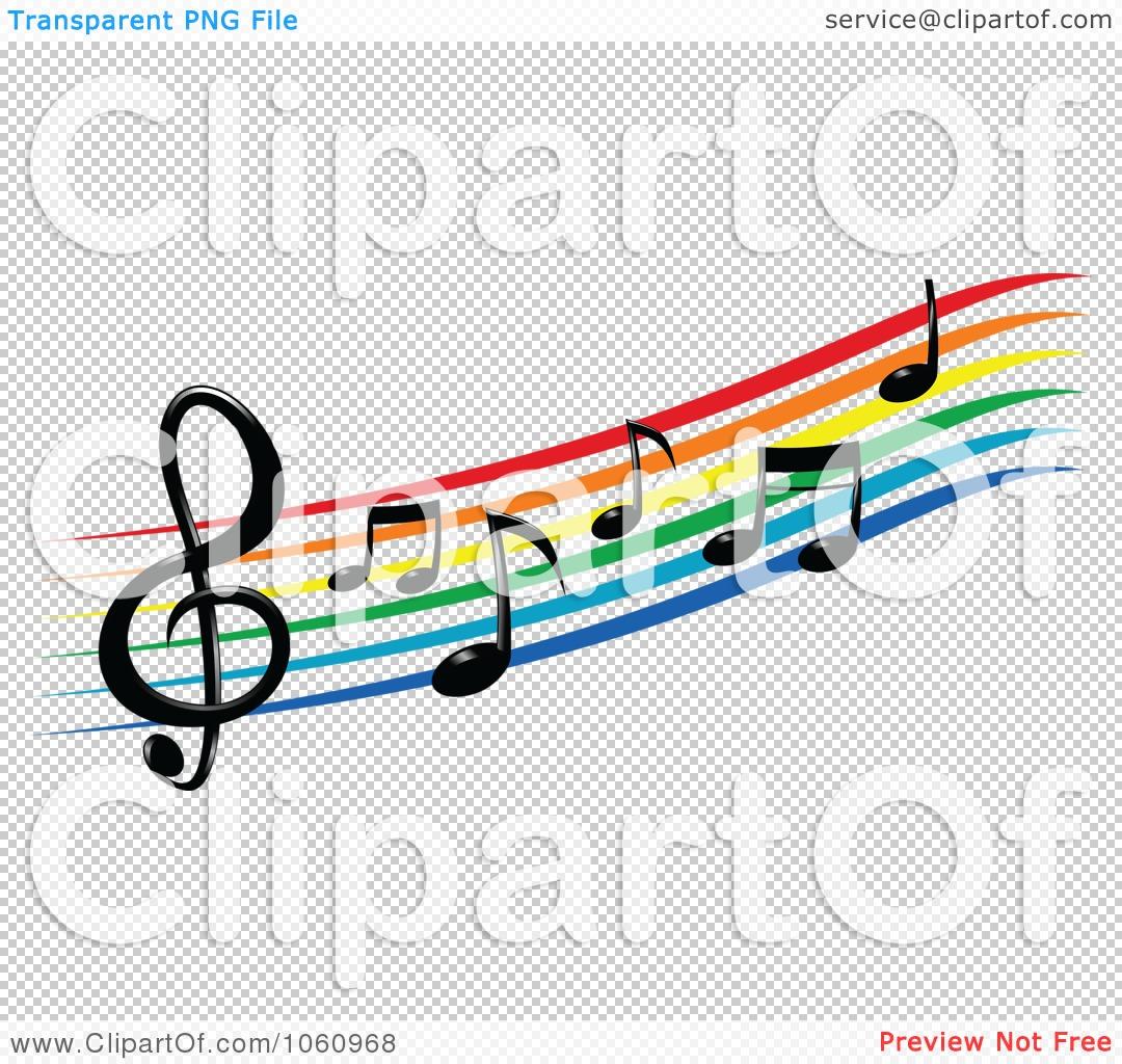 1080x1024 Royalty Free Vector Clip Art Illustration Of A Rainbow Staff