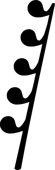 192x592 Th Rest Music Note Clip Art Free Vector 4vector