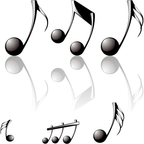 464x464 Vector Music Note Transparent Background Free Vector Download