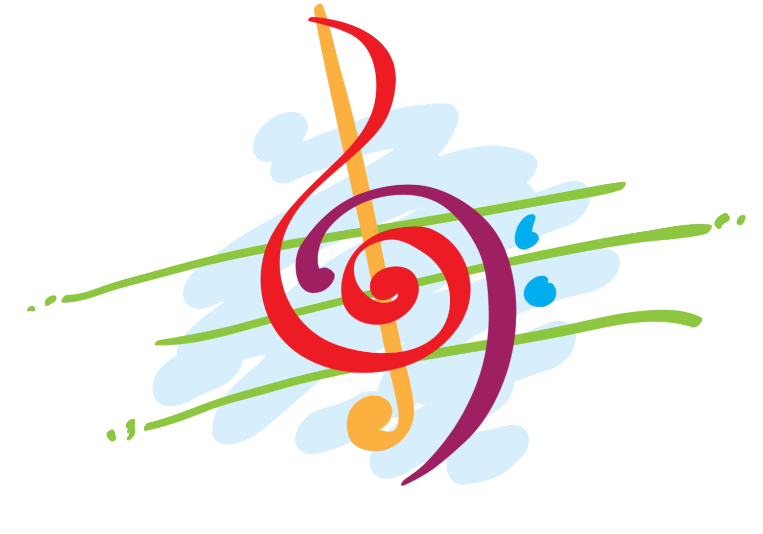 1493x1046 Colorful Musical Notes Clipart