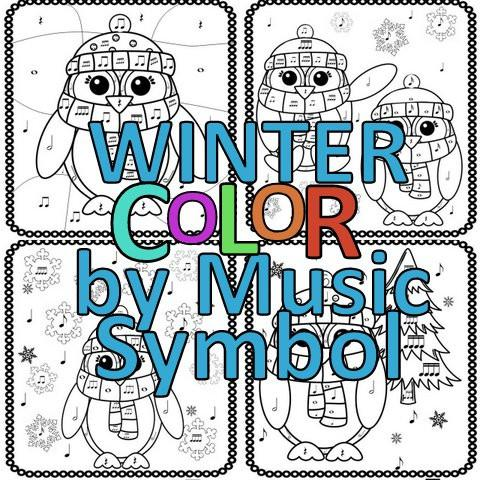 480x480 Winter Color By Note The Bulletin Board Lady