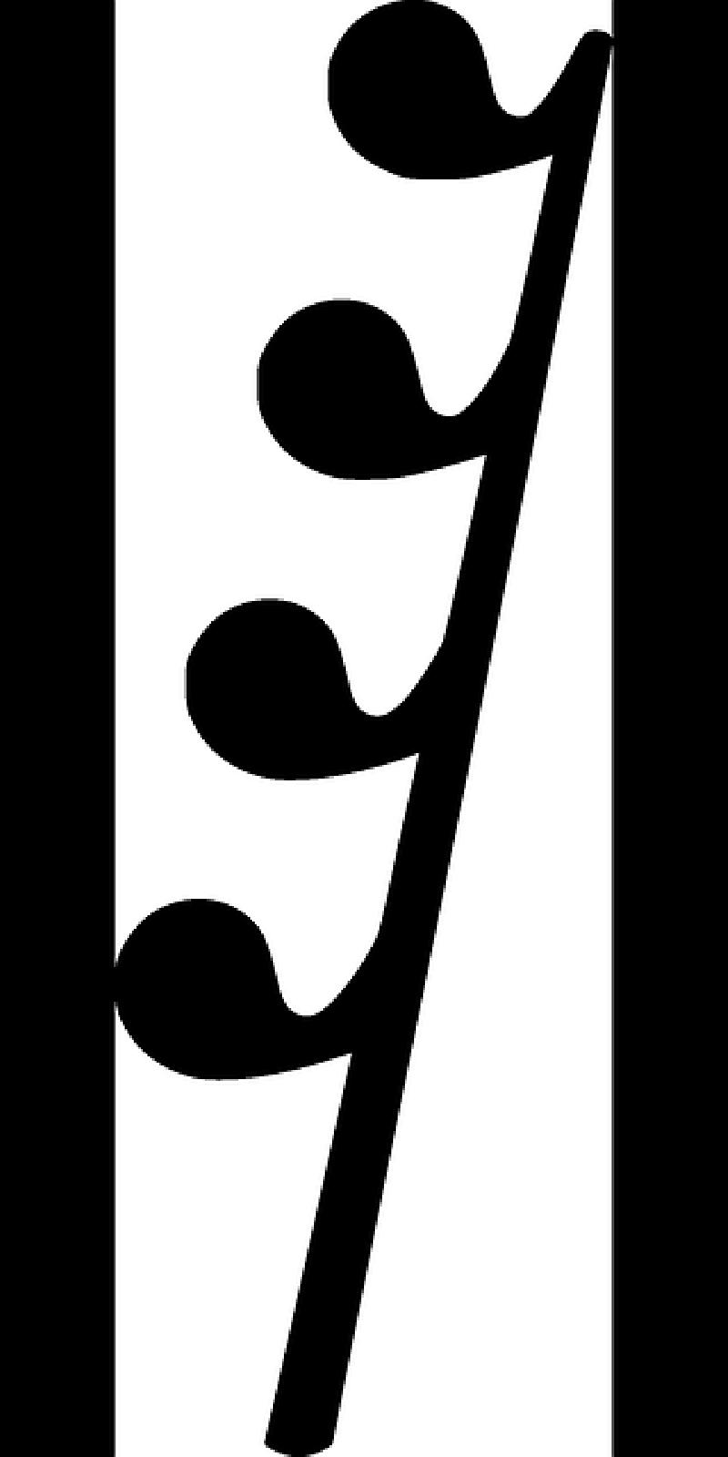 800x1600 Music, Symbol, Symbols, Musical, Notes, Writing, Rest