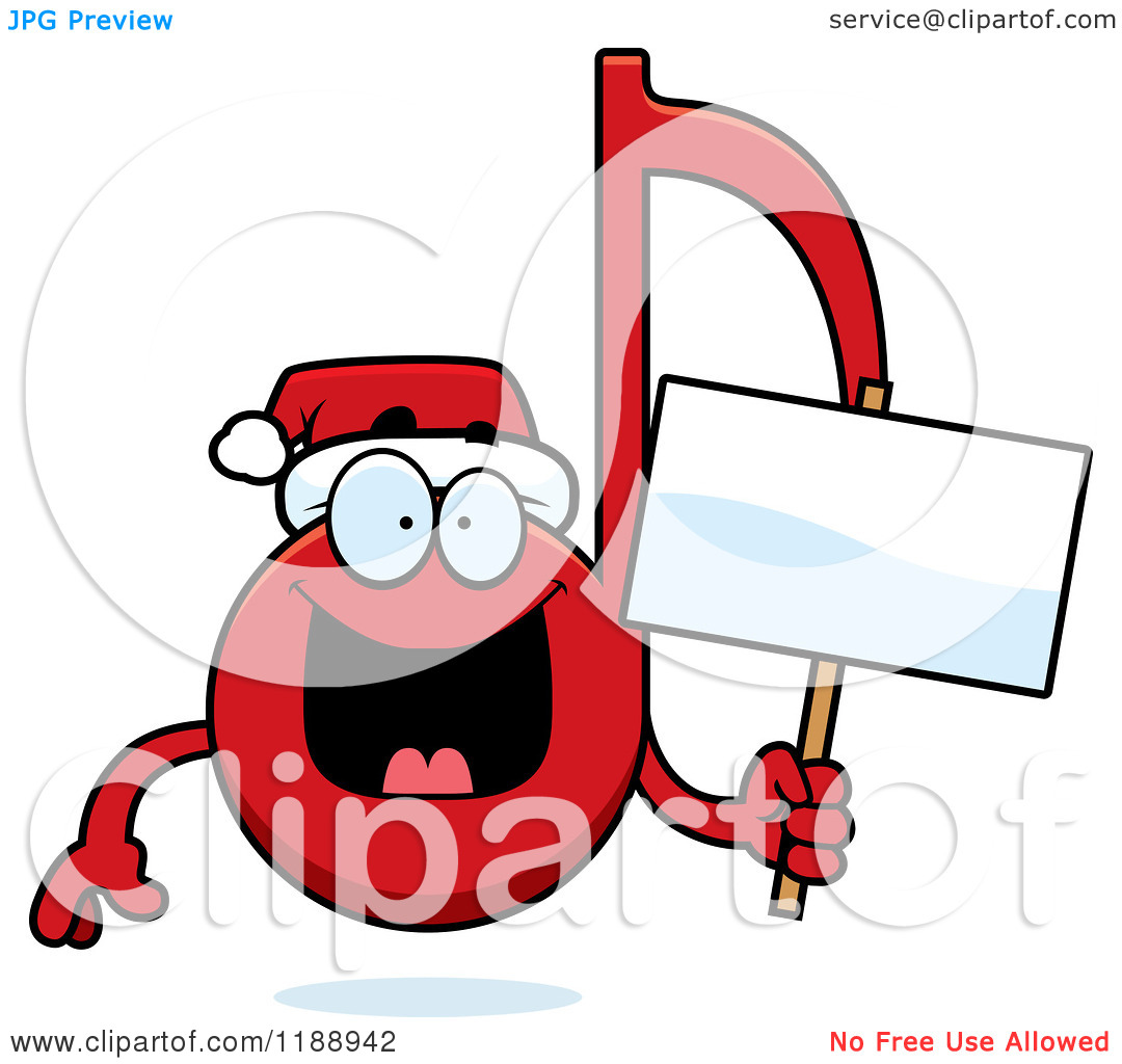 1080x1024 Christmas Music Notes Clipart