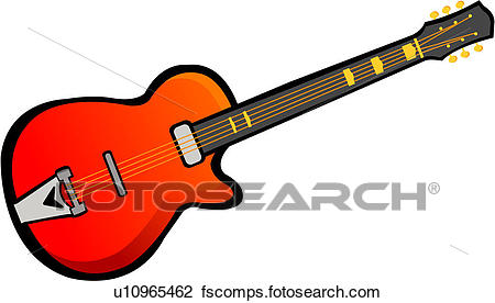 450x276 Clipart Of Musical Instrument, Guitar, String Instrument, Music