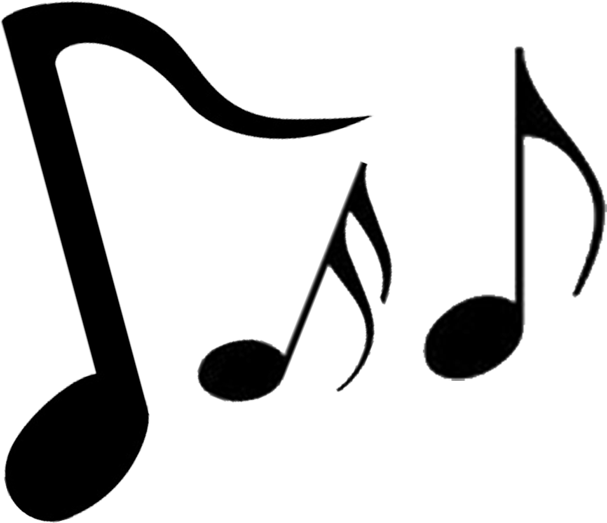 note musical music clipart instruments clipartmag