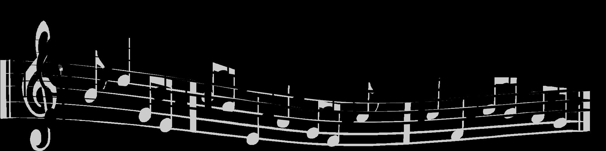 2000x498 Staff Clipart Music Staff