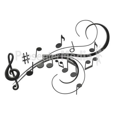 400x400 Jazz Musical Notes Clipart, Free Jazz Musical Notes Clipart