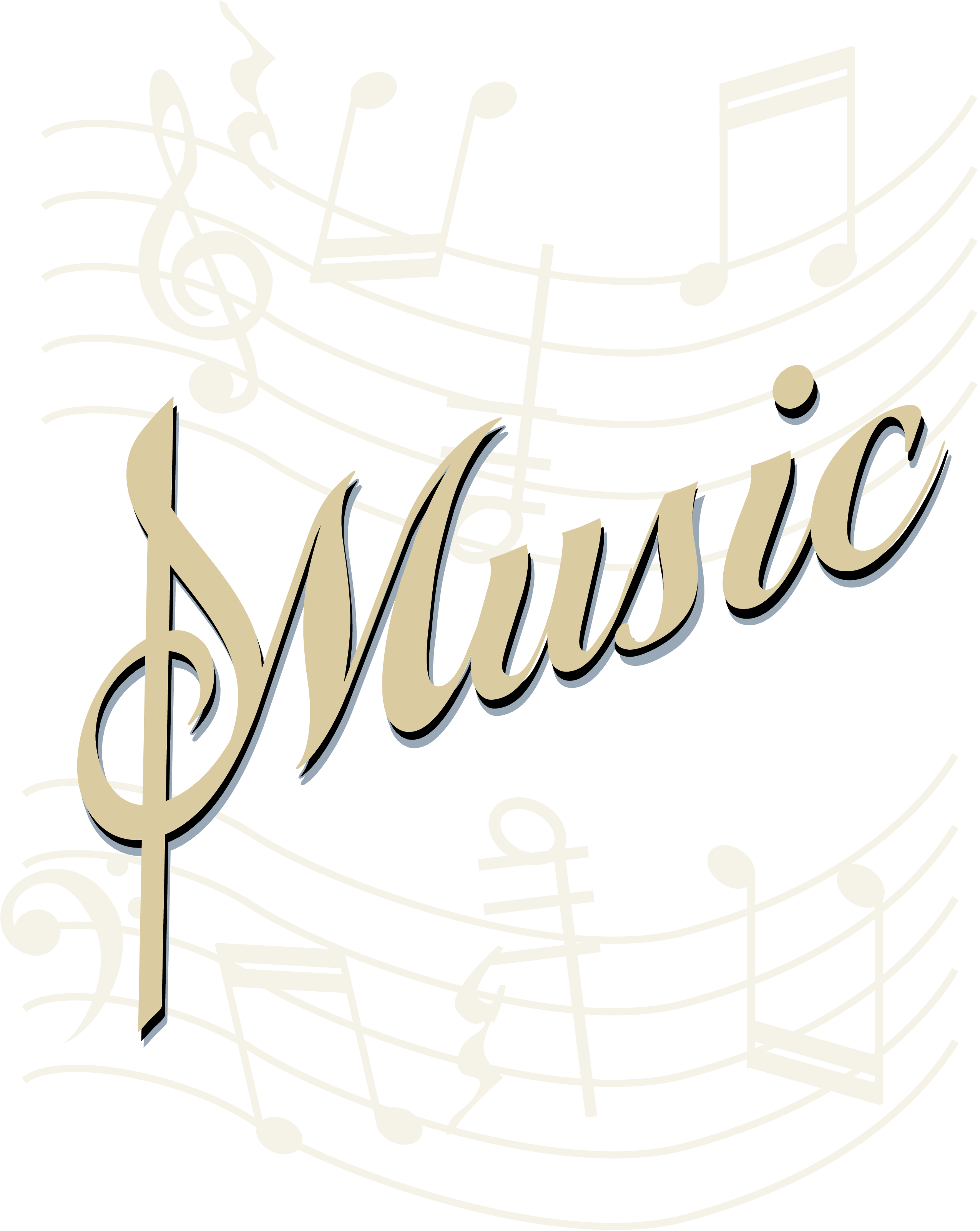 Musical Notes Transparent Background