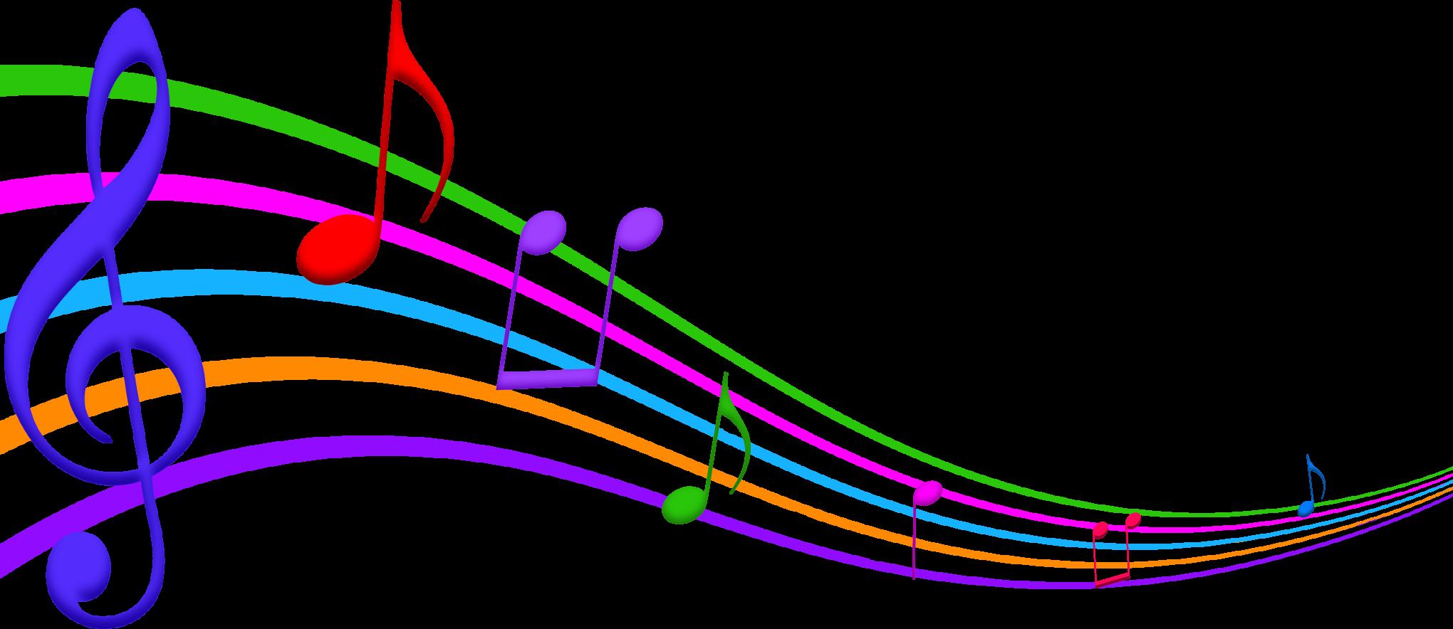 Musical notes transparent background free download best musical 2040x884 png transparent background clipart voltagebd Images