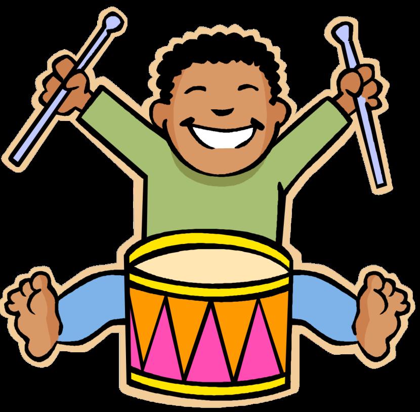 clipart music cartoon musical cliparts summer clip clay symbols instruments carmel clipartmag