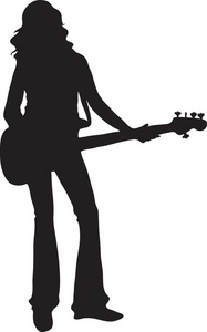 187x300 Musician Clipart Image