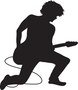 260x300 Musician Clipart Image