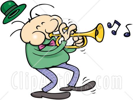 450x338 Trumpet Cliprt 63957 Royalty Free Rf Clipart Illustration