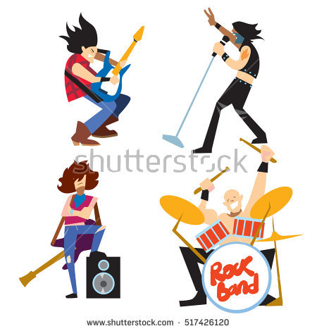 450x470 Musician Clipart Music Group