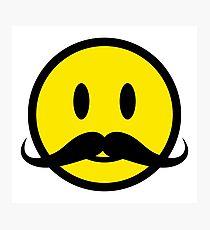 210x230 Mustache Emoji Wall Art Redbubble