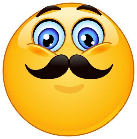 442x450 Mustache Smiley Symbols Amp Emoticons