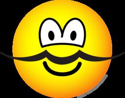 254x199 Mustache Emoticon Emoticons @