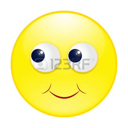 450x450 Set Of Emoticons. Emoji. Yellow Happy Smiley With Glasses