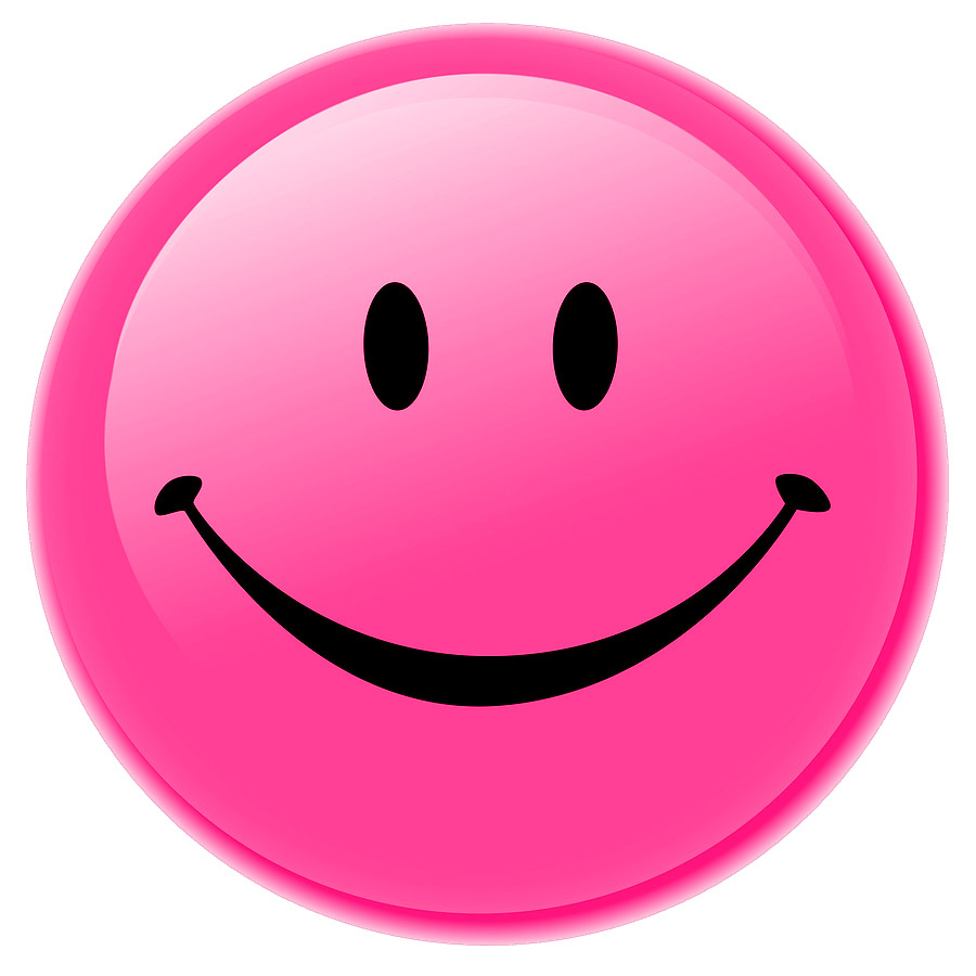 900x900 Smile Clipart Pink