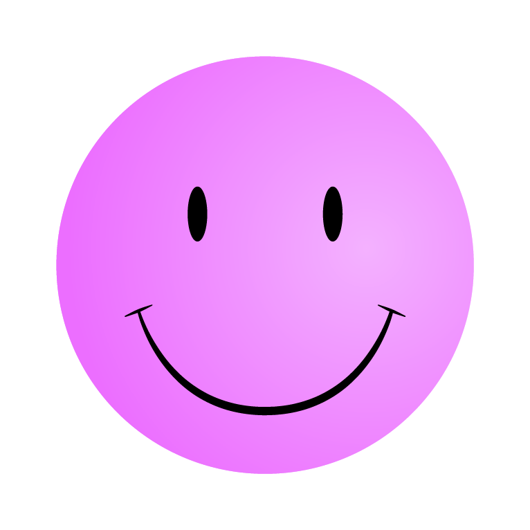 766x766 Smile Clipart Pink