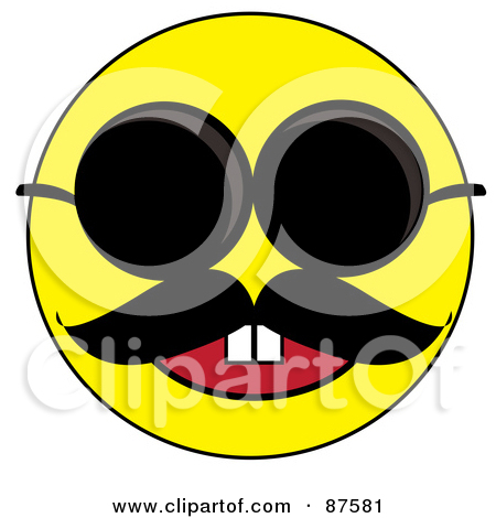 450x470 Smiley Face With Mustache And Thumbs Up Collection