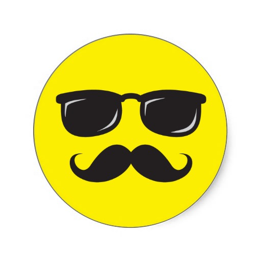 512x512 Smiley Face With Sunglasses Clipart
