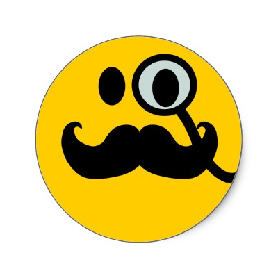 400x400 7 Cool Smileys With Mustache Smiley Symbol