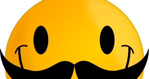 600x315 7 Cool Smileys With Mustache Smiley Symbol