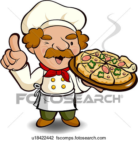 450x461 Clip Art Of Mustache, Pizza, Pizzeria, Pizza Chef, Business, Food