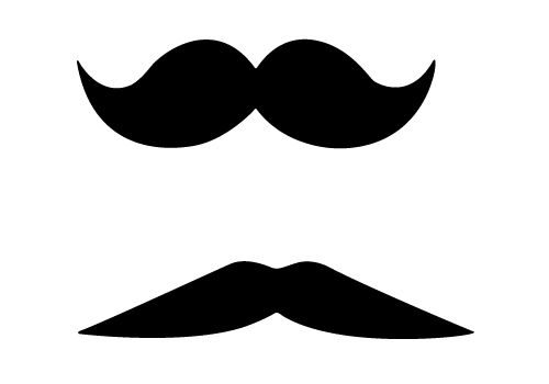 500x350 Funny Free Mustache Vector Images For Download