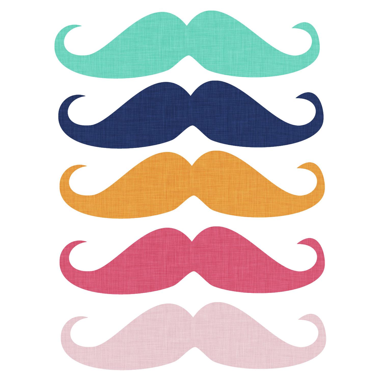1500x1500 Moustache Clip Art