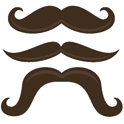 432x432 Mustache Clip Art No Background 3