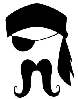269x340 Pirate Clipart Moustache
