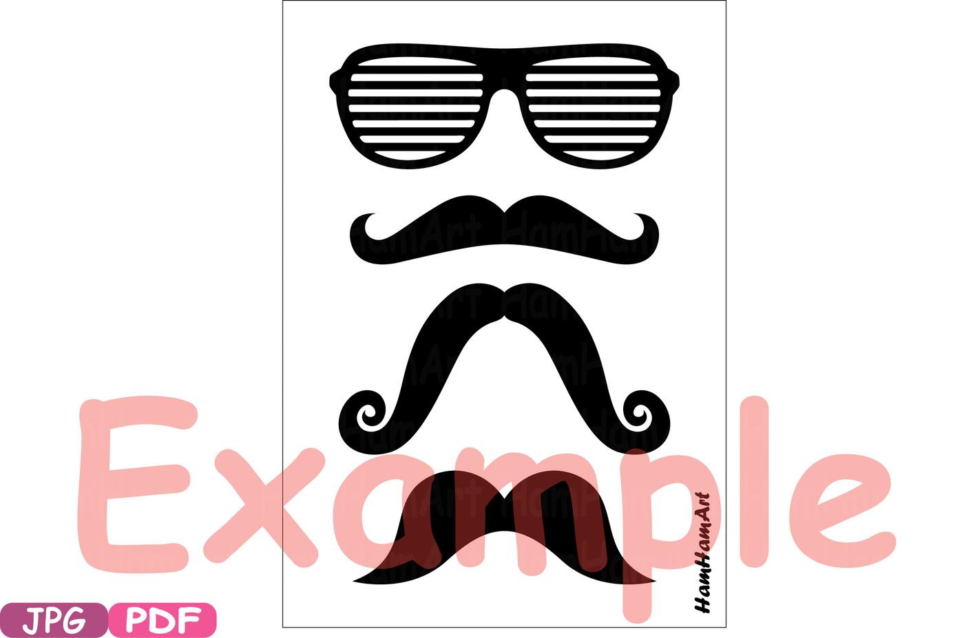 1400x927 Props Black Mustache Retro Party Photo Booth Prop Gentleman