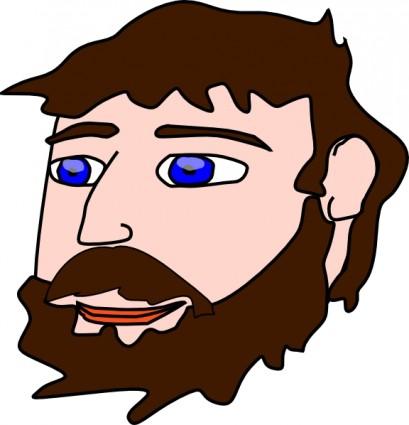 409x425 Beard And Moustache Clipart, Beard Clipart, Moustache Clip Art
