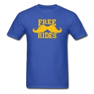 190x190 Shop Free Mustache Ride T Shirts Online Spreadshirt