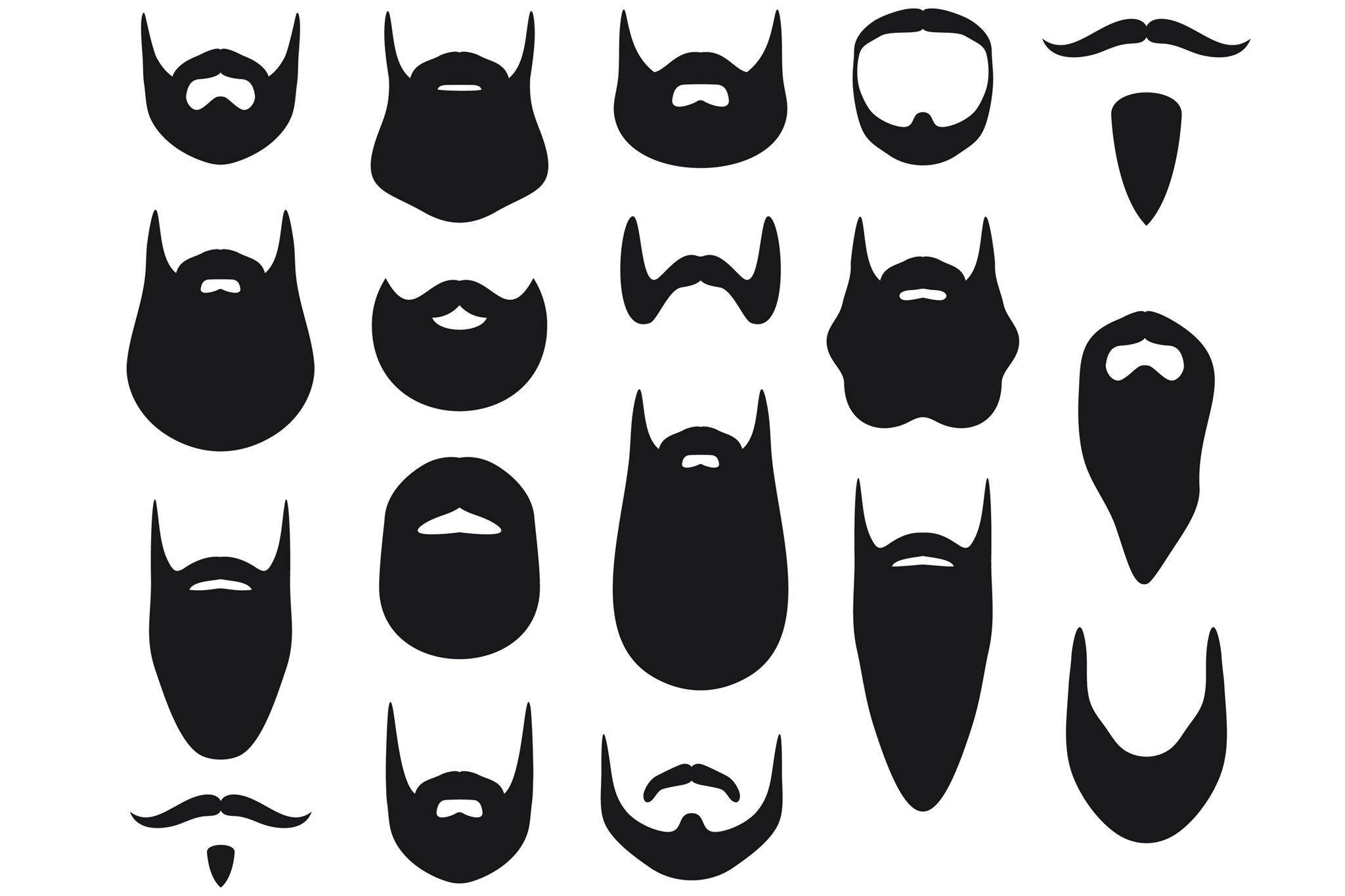 2048x1365 Mustache Hair Clipart, Explore Pictures
