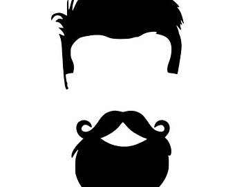 mustache silhouette clipart | free download best mustache silhouette