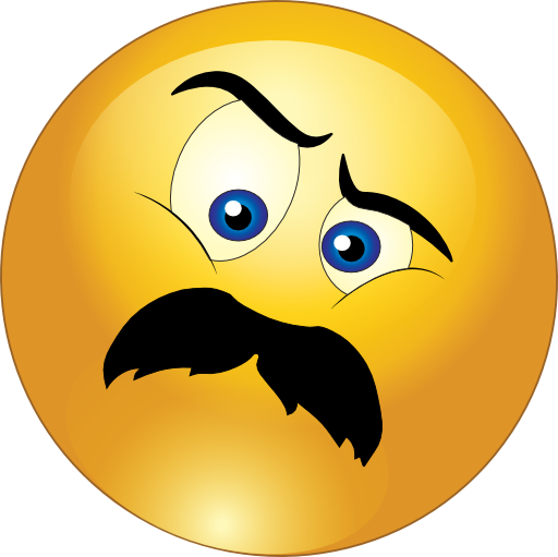 512x511 Angry Man Mustache Smiley Emoticon Clipart I2clipart