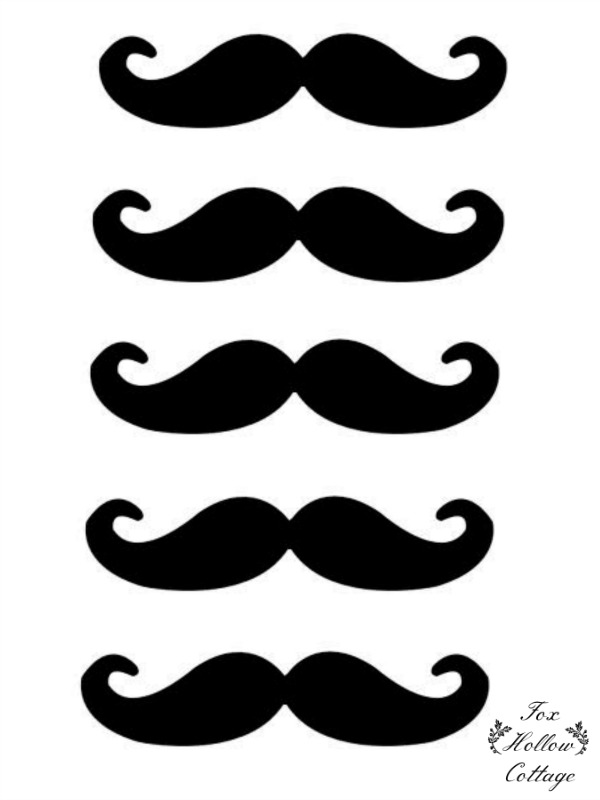 600x800 Free Lip And Mustache Printables Photo Booth Props