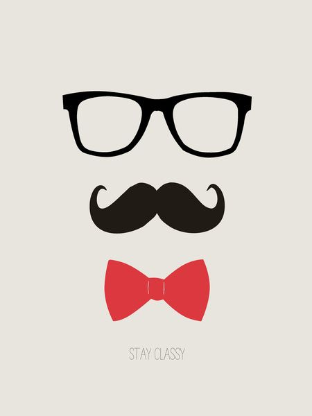 450x600 Mustache Pictures Stay Classy