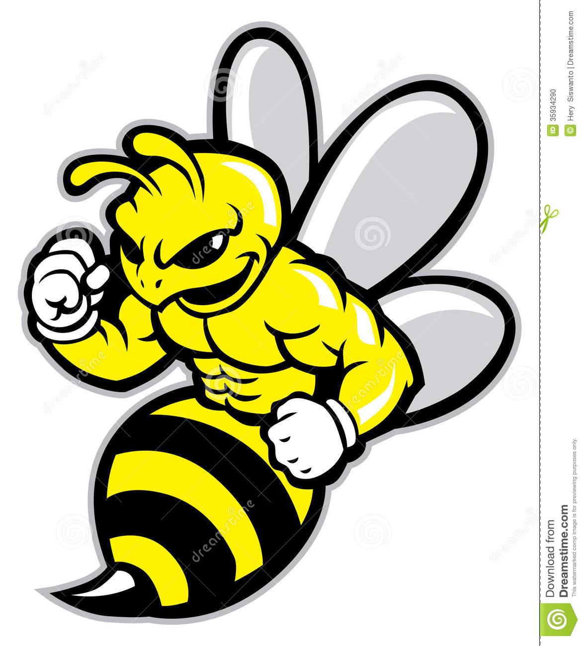 1175x1300 Bee Mascot Clipart