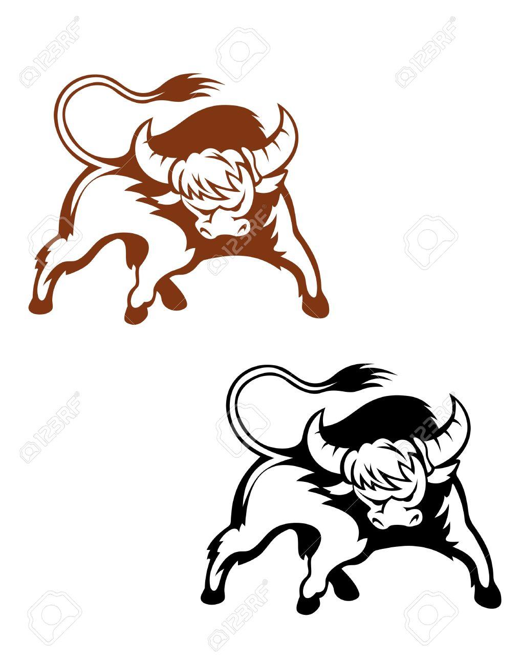 1018x1300 Bison Clipart Mascot