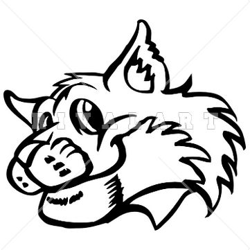 361x361 32 Best Bannockburn Bobcats Images School, Clip Art