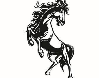 340x270 Horse Mane Clip Etsy