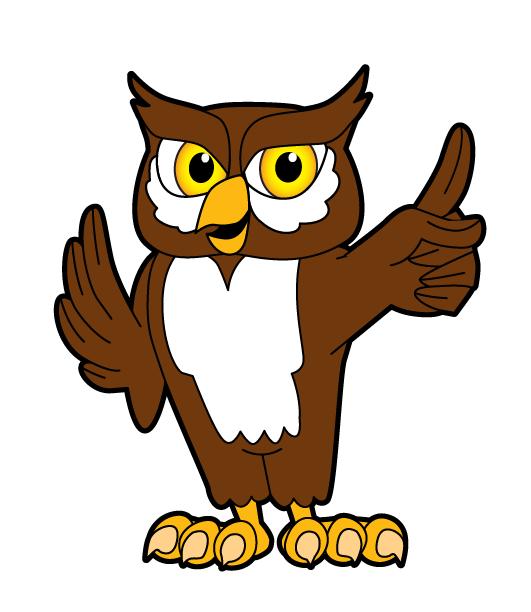 531x612 Owl Mascot