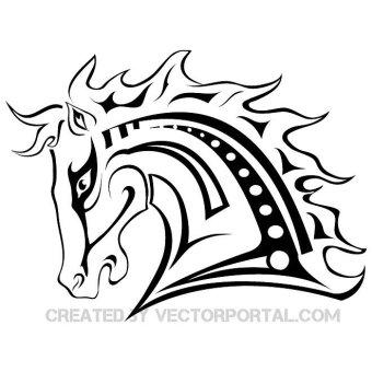 Mustang Horse Clipart