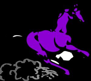 300x267 Purple Horse Clipart Amp Purple Horse Clip Art Images