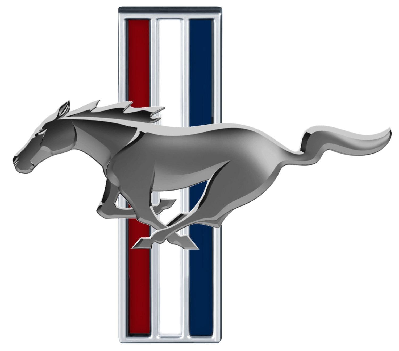 Mustang Logo Clipart
