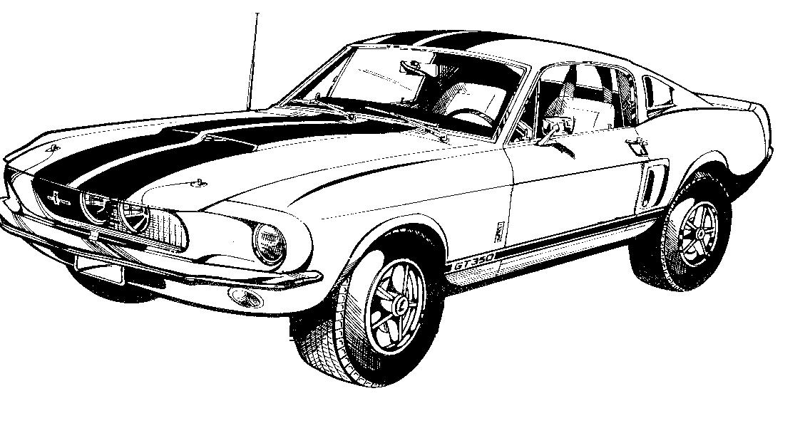1129x601 Ford Mustang Logo Clipart